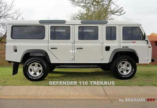 Defender 110 Trekbus Land Rover Land Rover Defender Vehicles