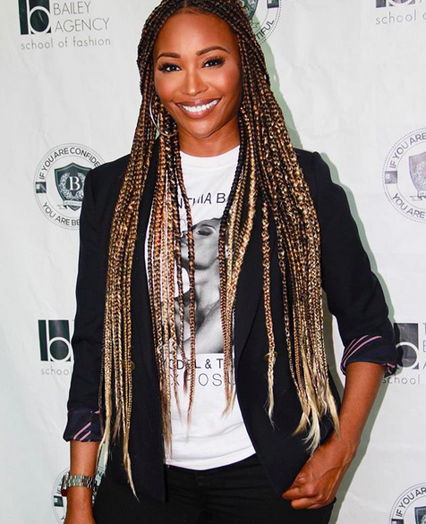 See How These Celebrities Rocked Braids In 2018 So Far And Slayed Hair Styles Braided Hairstyles Long Box Braids