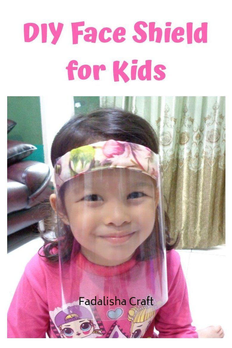 DIY Face Shield for Kids / Cara Membuat Face Shield Anak