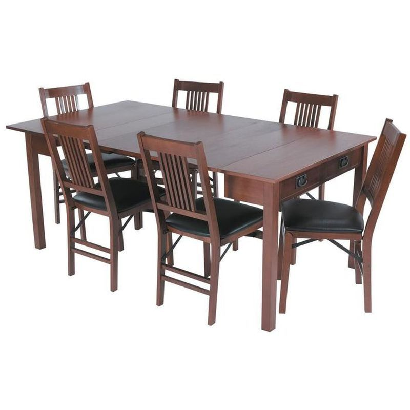 3 In 1 Mission Style Convertible Table Expandable Dining Table Dining Table Convertible Table
