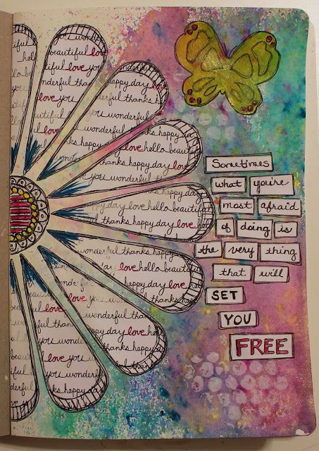 The Art Journal Ideas