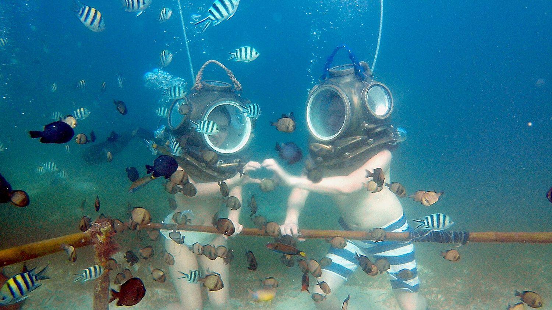 Helmet Diving Seawalker In 2020 Diving Scuba Diving Holiday Vacations