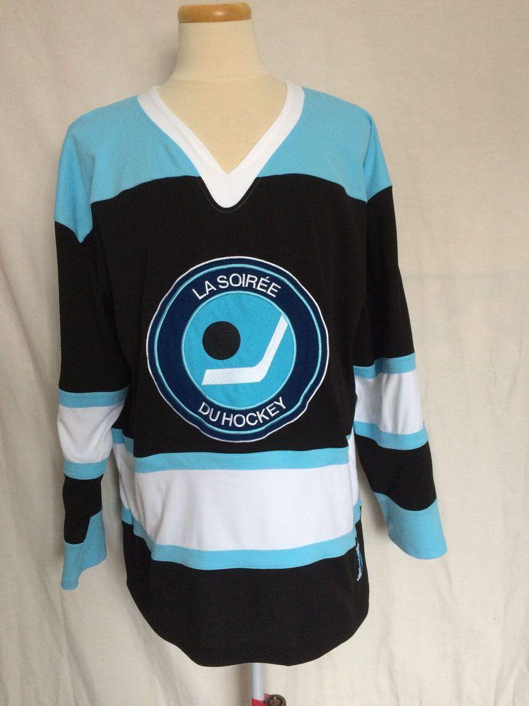 Cbc Hockey Night In Canada Jersey Sz Xl French Crest White Black Blue Nhl Cbc Blues Nhl Nhl Hockey Jerseys Hockey Jersey