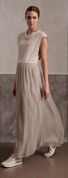 Photo of khaki o neck patchwork sleeveless blended summer dress  khaki o neck patchwork s…