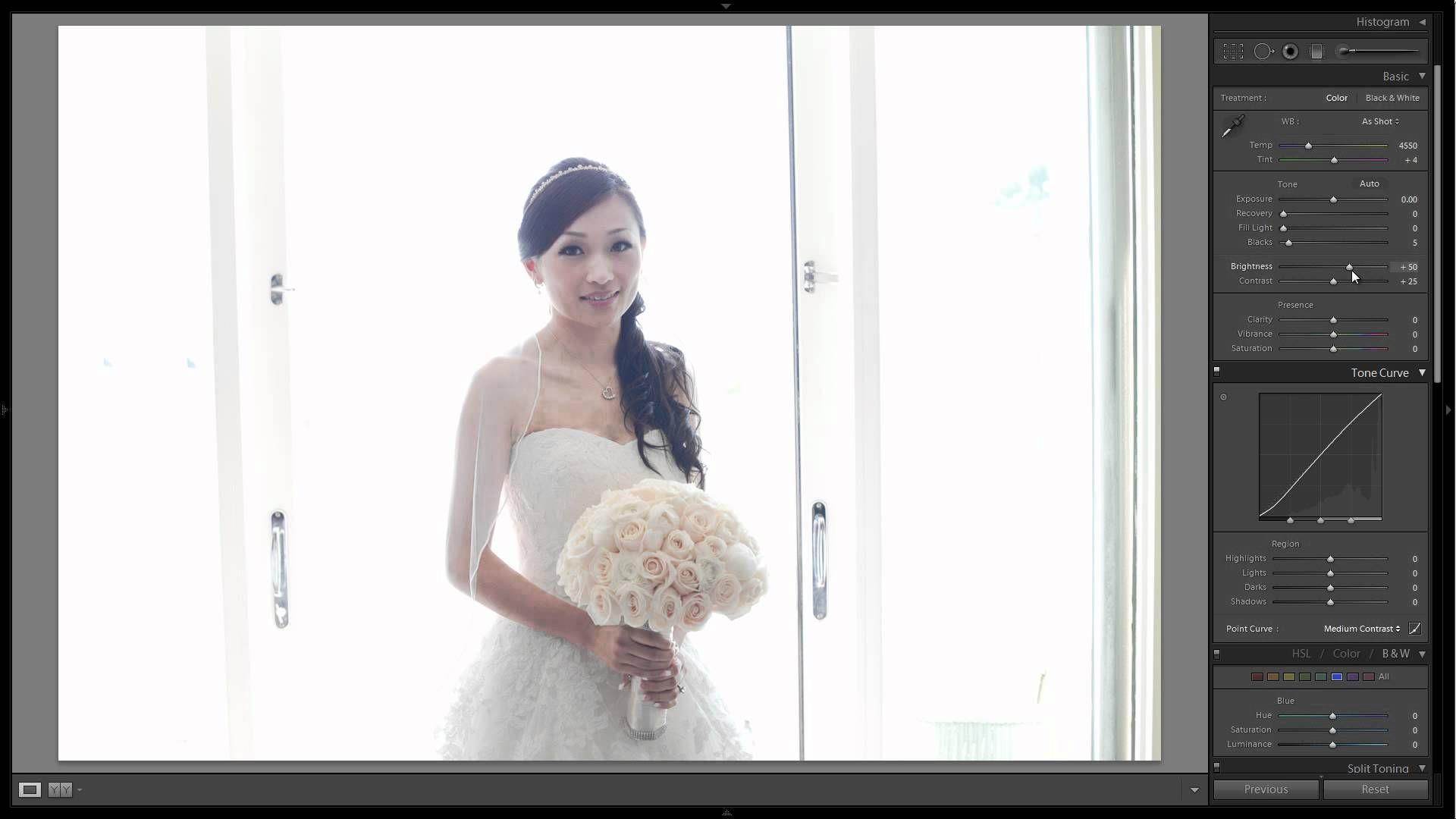 обработка свадебной фотографии в высоком ключе говорится