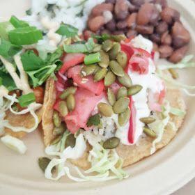 justthefood.com...the blog: Vegan 'Surf and Turf' Taco Plate