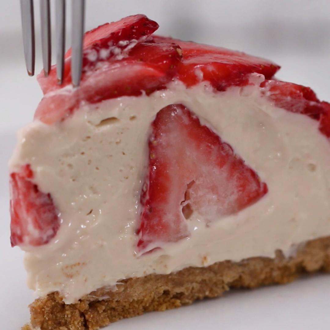 Erdbeer-Kuppelkuchen #holidaydesserts