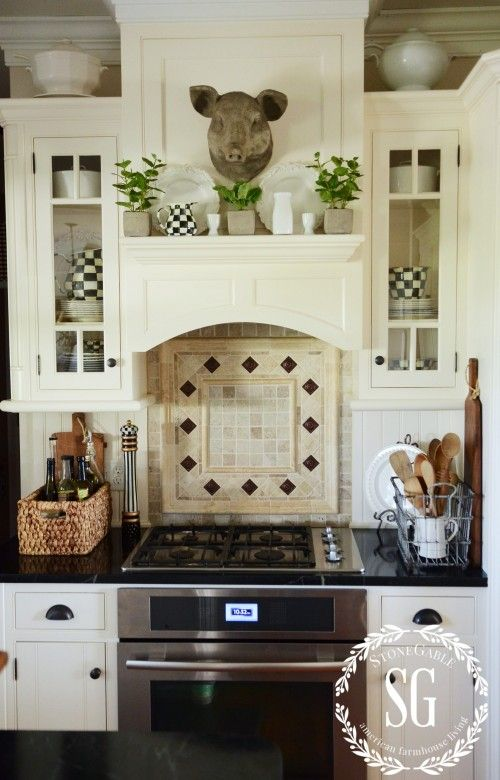 Early Fall Farmhouse Kitchen Country Kitchen Designs