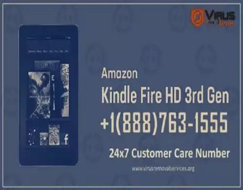 Kindle Fire Customer Service +1(888)7631555 Number