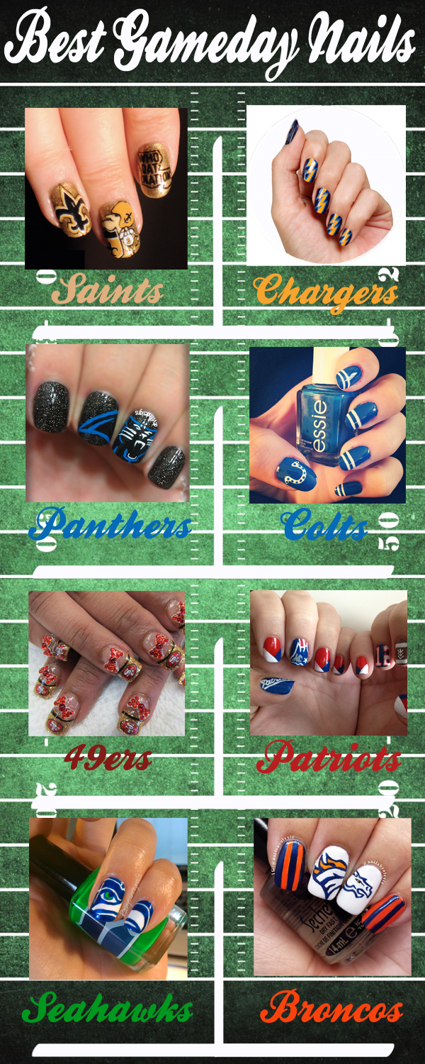 Best GameDay Nails: Enter your email to be the first to own a Papi ...