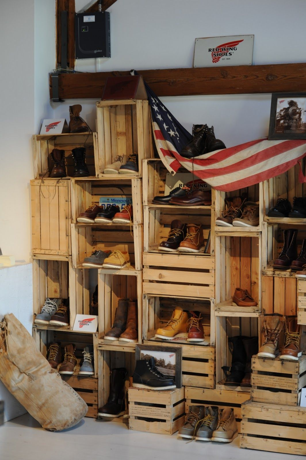 Great Display! Great Boots!