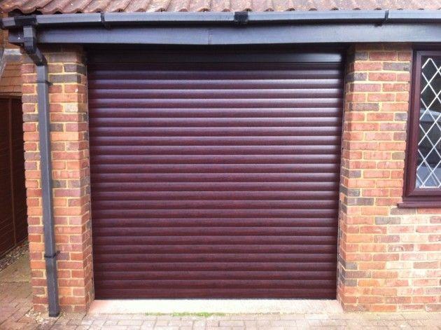 Single Roller Garage Door Rosewood Garage Doors Garage Door Styles Modern Garage Doors