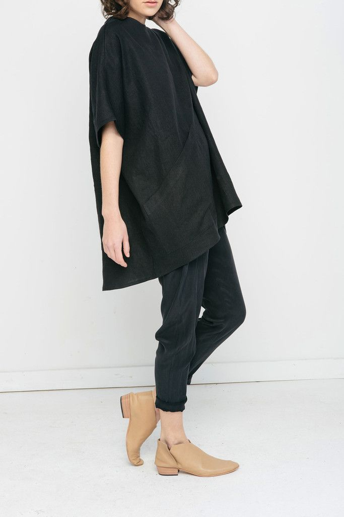 Harper Tunic in Linen
