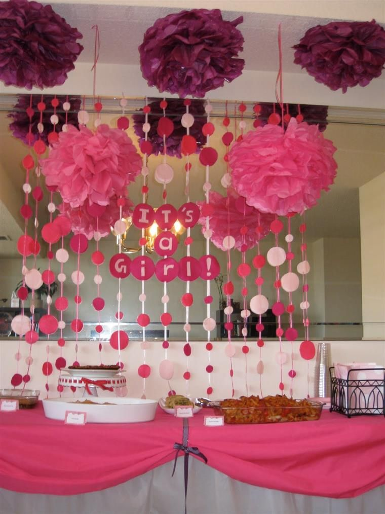 Cute decorative idea Vice versa for boys or do nuetral for gender reveal.
