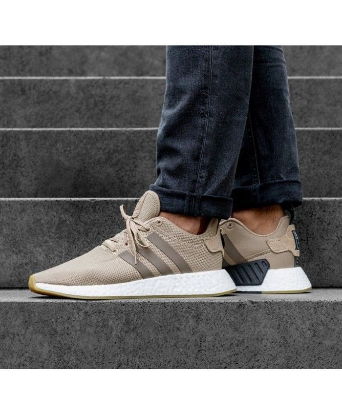 Adidas NMD R2 Trace Khaki Trainers UK | Work outfits