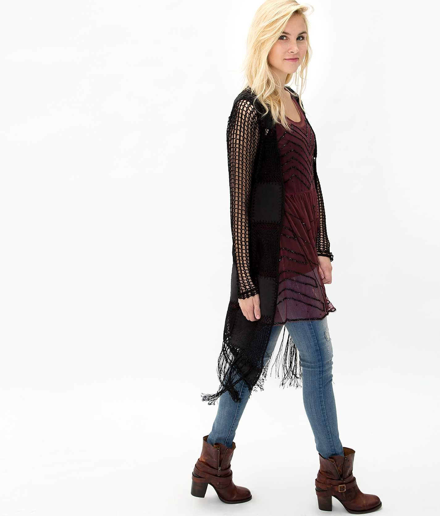 Gimmicks by BKE Duster Cardigan Sweater - Women's Cardigans ...