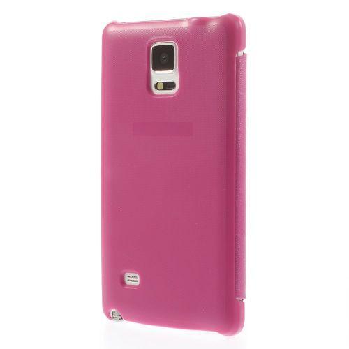 Javu - Samsung Galaxy Note 4 Hoesje - Book Case Business Roze   Shop4Hoesjes.nl