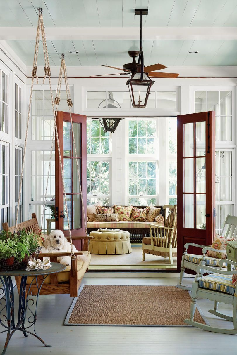 80 Breezy Porches And Patios Southern Living House Plans New