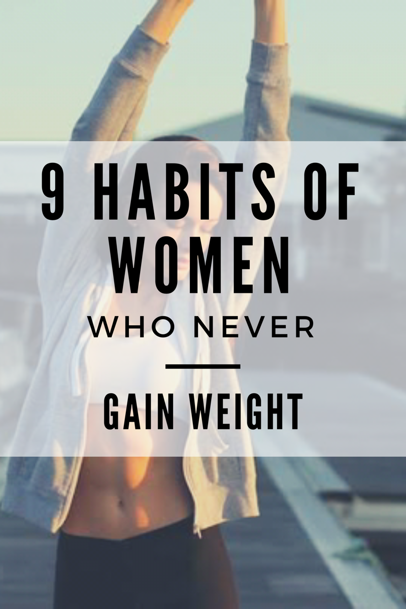 If you want to lose weight or stay at the same weight, apply these habits to your daily life!   #how...