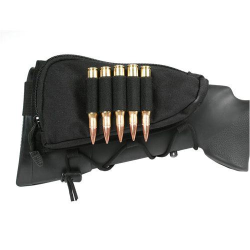 Blackhawk Tactical Adjustable Black Cheekpad w/ Ammo Holder - Item# GS-BLK90CP02BK Only $28.95