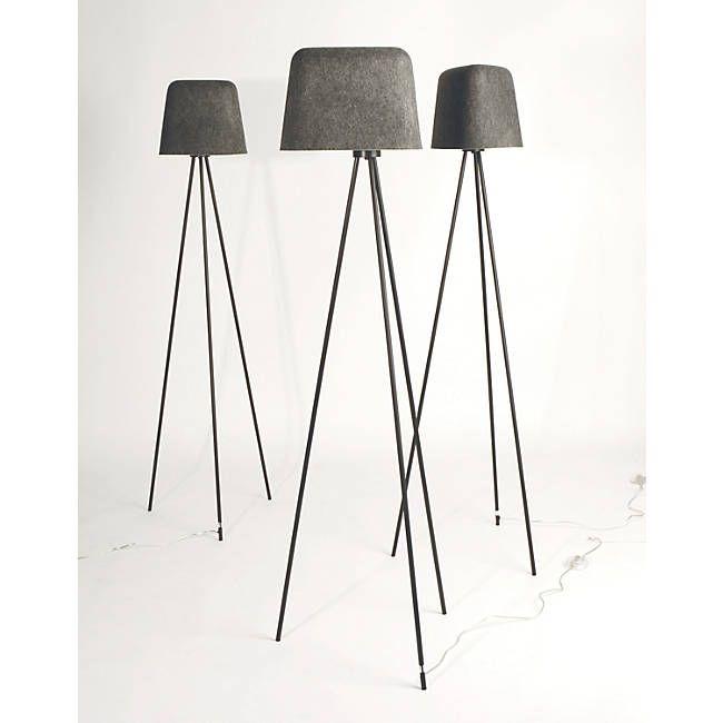 Felt Shade Floor Lamp By Tom Dixon At Lumens Com Lamp Floor Lamp Tripod Lamp