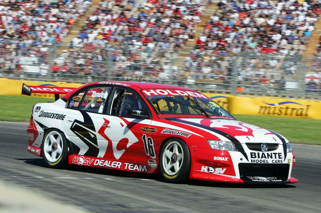 Hsvdt Garth Tander 2005 Clipsal 500 Touring Car Racing Australian V8 Supercars Super Cars