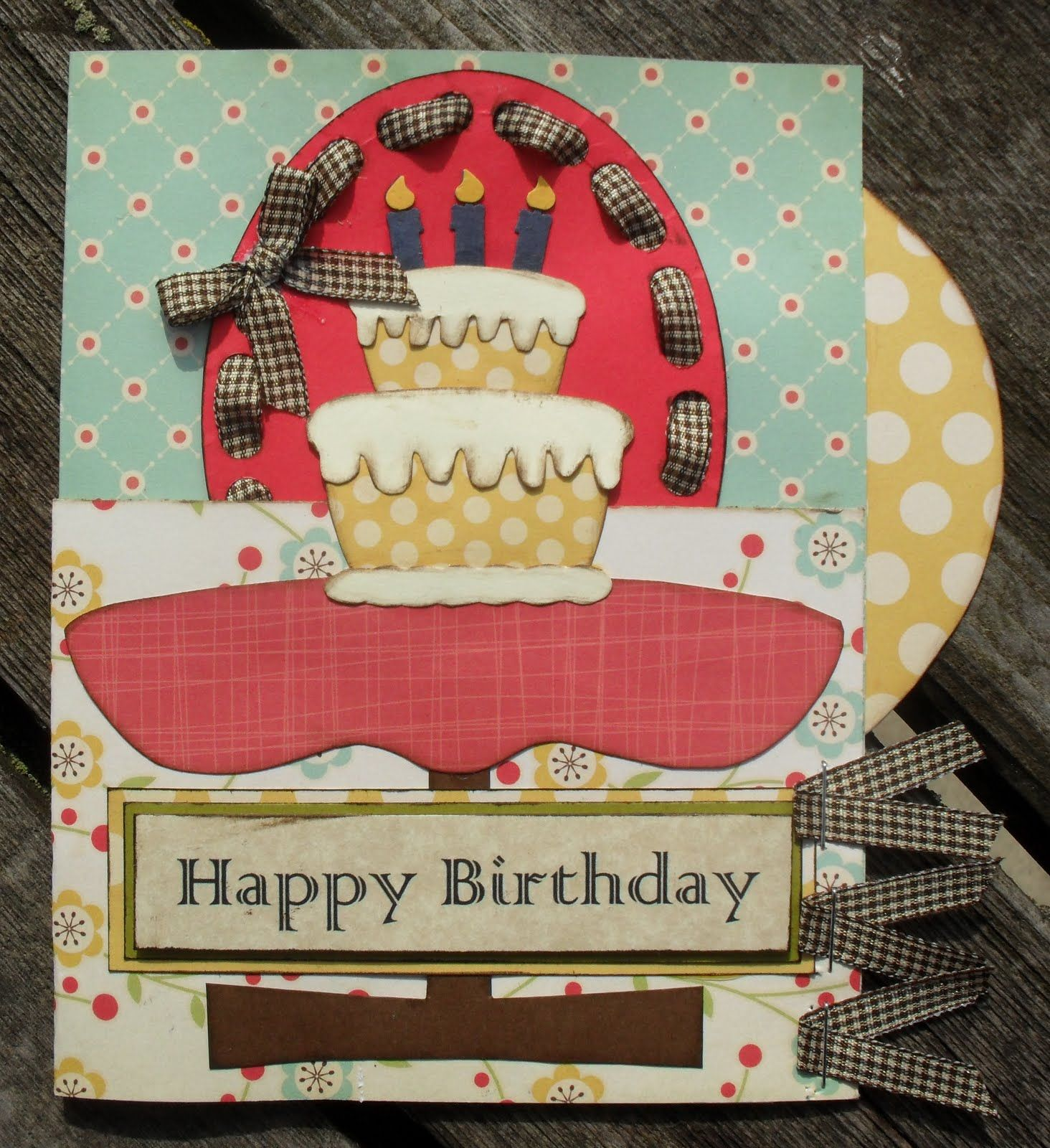 Happy Birthday Vintage Card (With images) Happy birthday