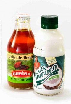 """Vicios Brasileiros - Kit """"Azeite de Dende 200ml + Leite de coco 200ml"""" - eine perfekte Kombination für original brasilianische Fischgerichte. Einfach mal probieren..."""
