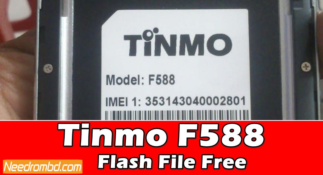 Tinmo F588 MT6580 Flash File Without Password | Smartphone