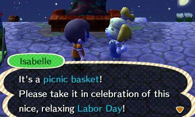 Labor Day Animal Crossing Happy Labor Day New Leaf