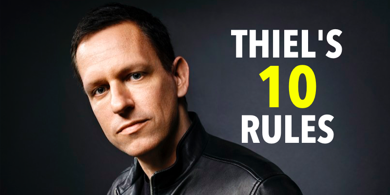 Peter Thiel Is A Silicon Valley Entrepreneur Who Founded Two Multi Billion Dollar Companies Paypal And Palantir Lesson Entrepreneur Success