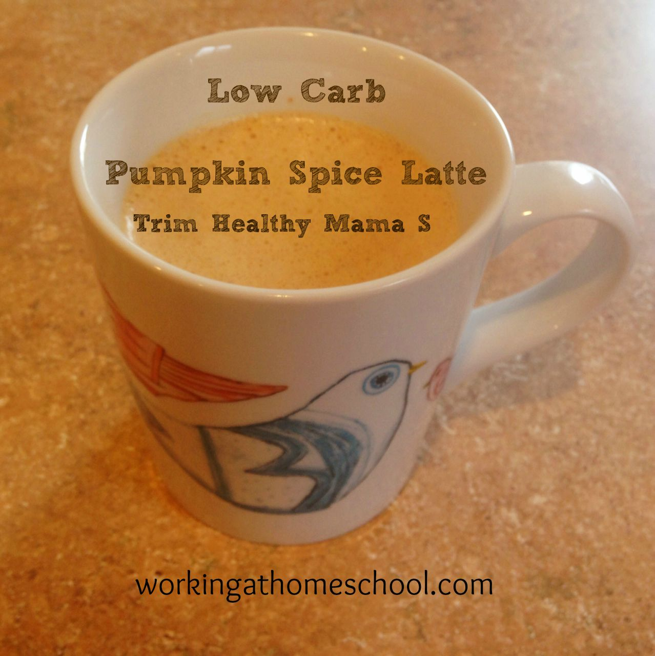 Low Carb Pumpkin Spice Latte (THM S)