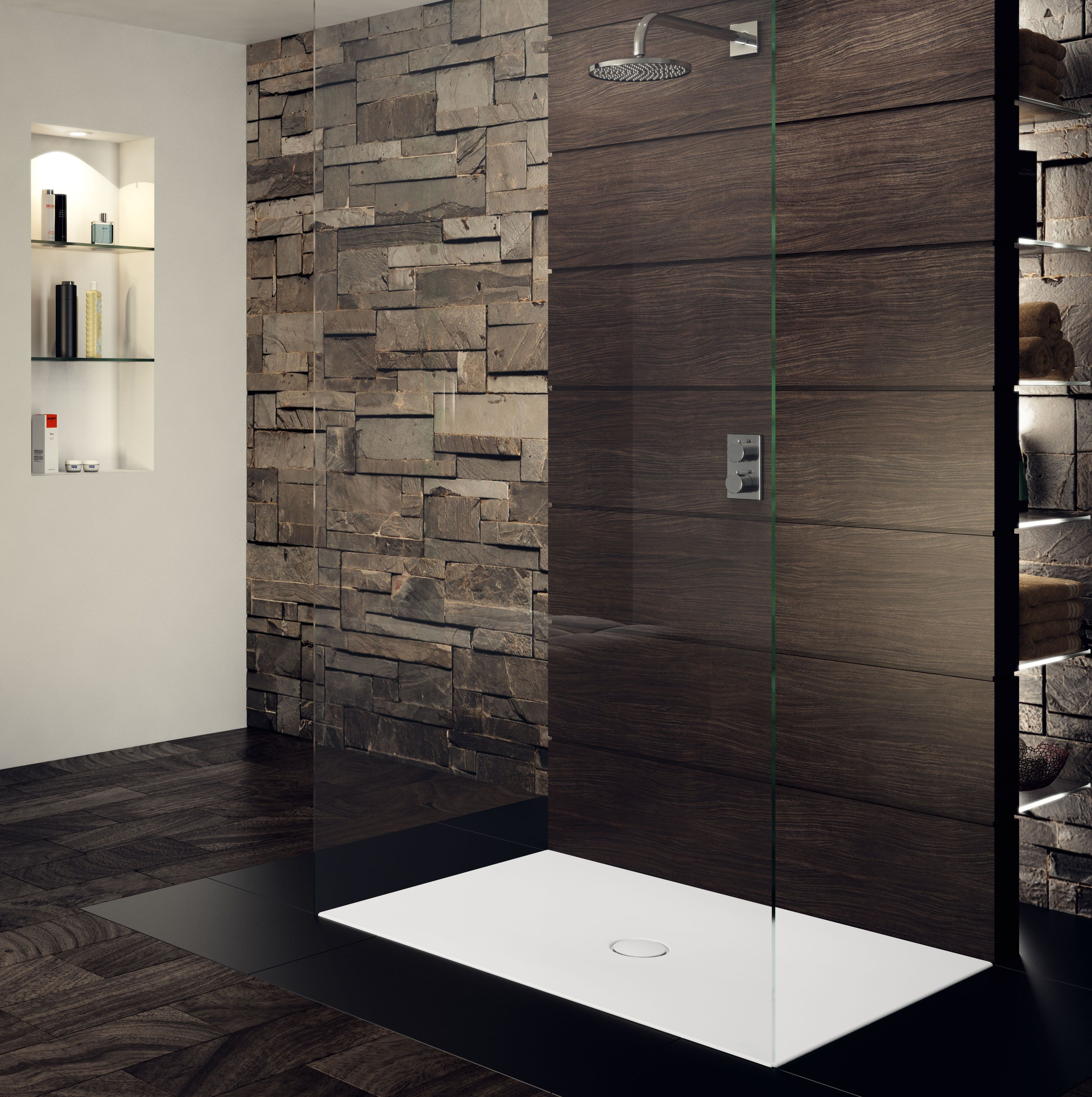 With The Floor Level Shower Surface Scona Kaldewei Redefines Its Ambiente