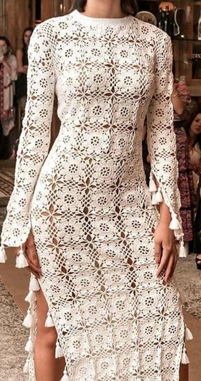 Crochet dress New items of crocheted fashion 20202021