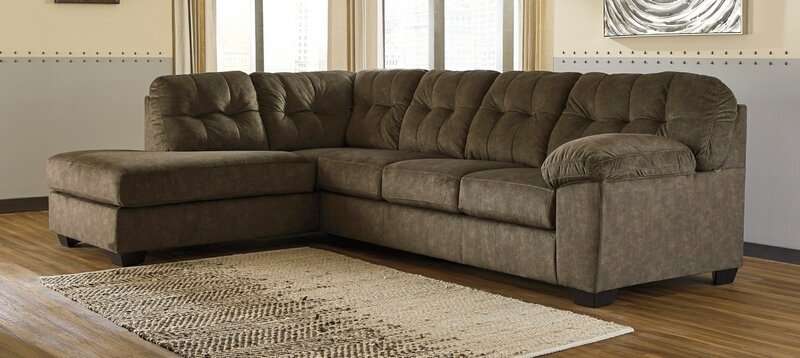 Ashley Furniture 87213 16 67 2 Pc Altari Slate Fabric Sectional