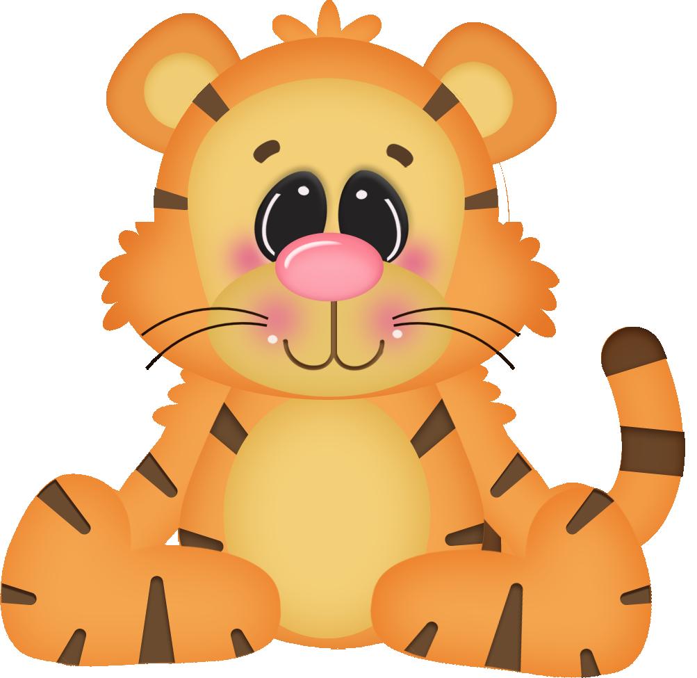 Floresta E Safari 3 Tiger Png Minus Clip Art Animal Silhouette Animal Clipart