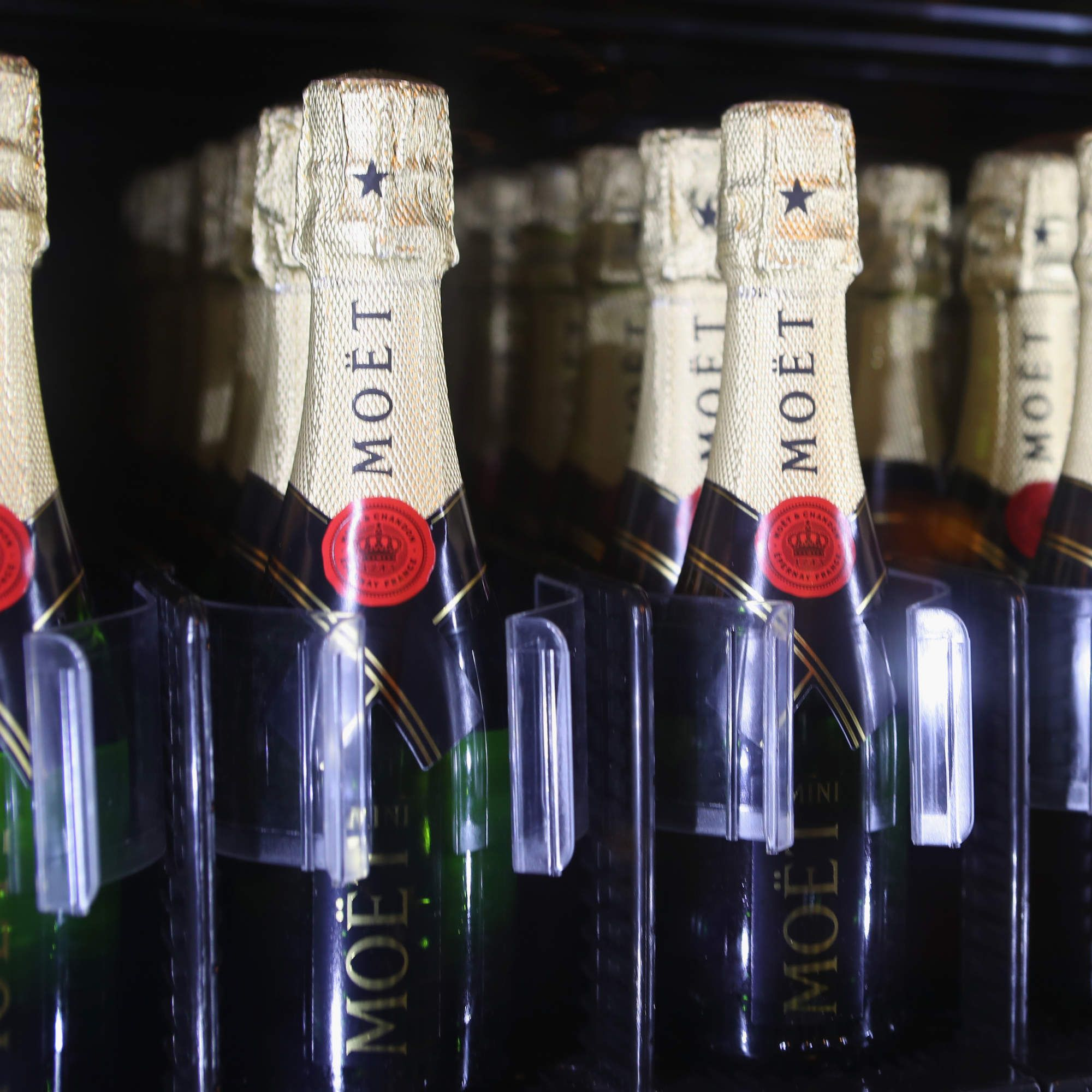 Finally a champagne vending machine has landed in the us