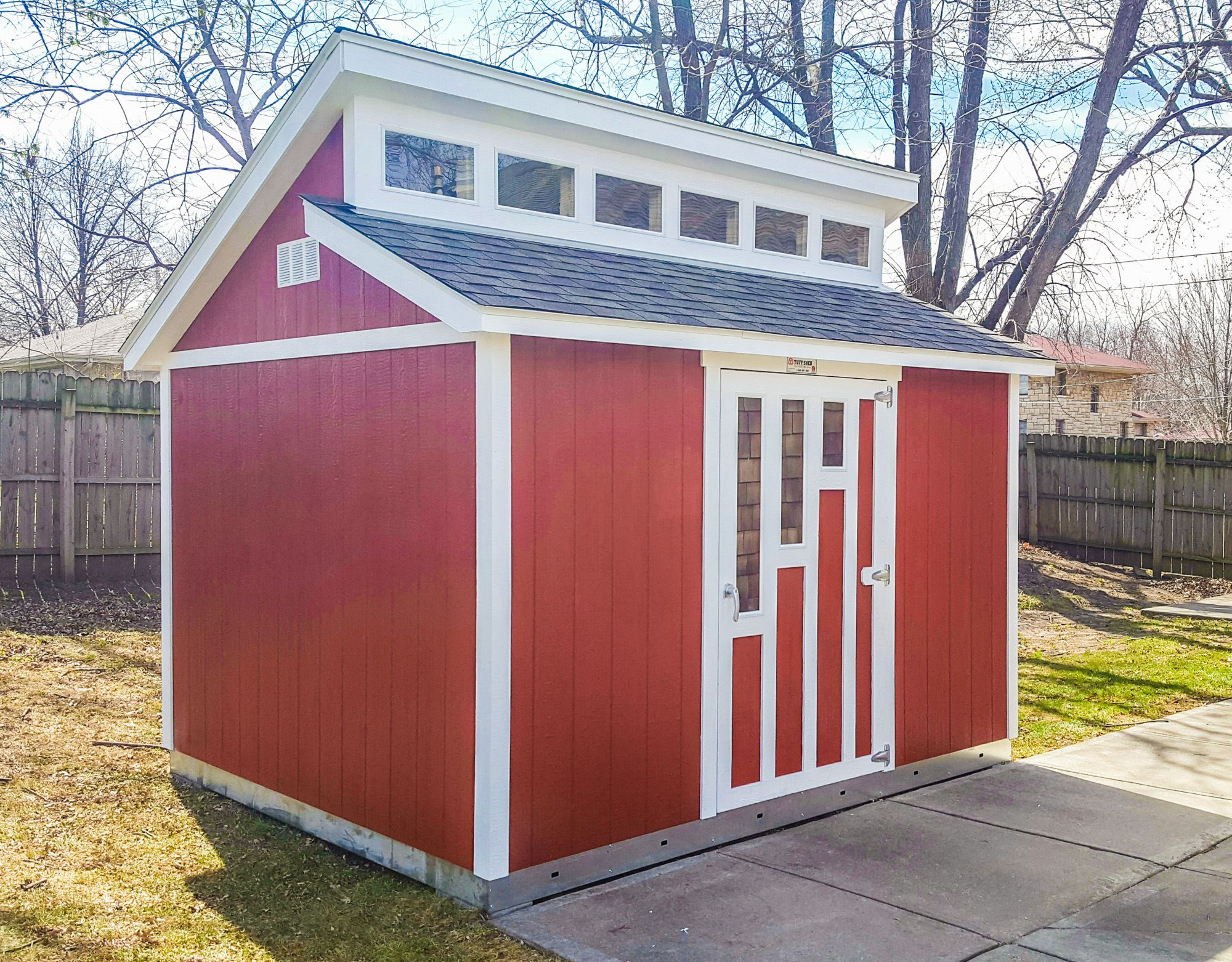 Introducing Our Newest Options Tuff Shed Backyard Landscaping Designs Backyard Modern Shed