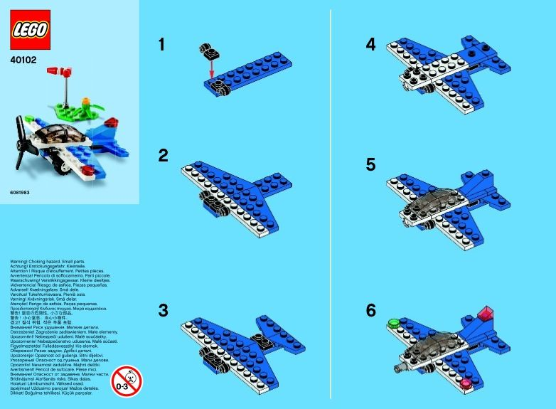 View Lego Instructions For Monthly Minibuild September Set Number