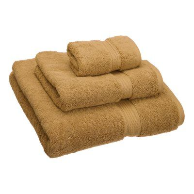 Darby Home Co Hamden 3 Piece Egyptian Quality Cotton Bath Towel Set Color Rust In 2019 Products Bath Towels Towel Bath Towel Sets