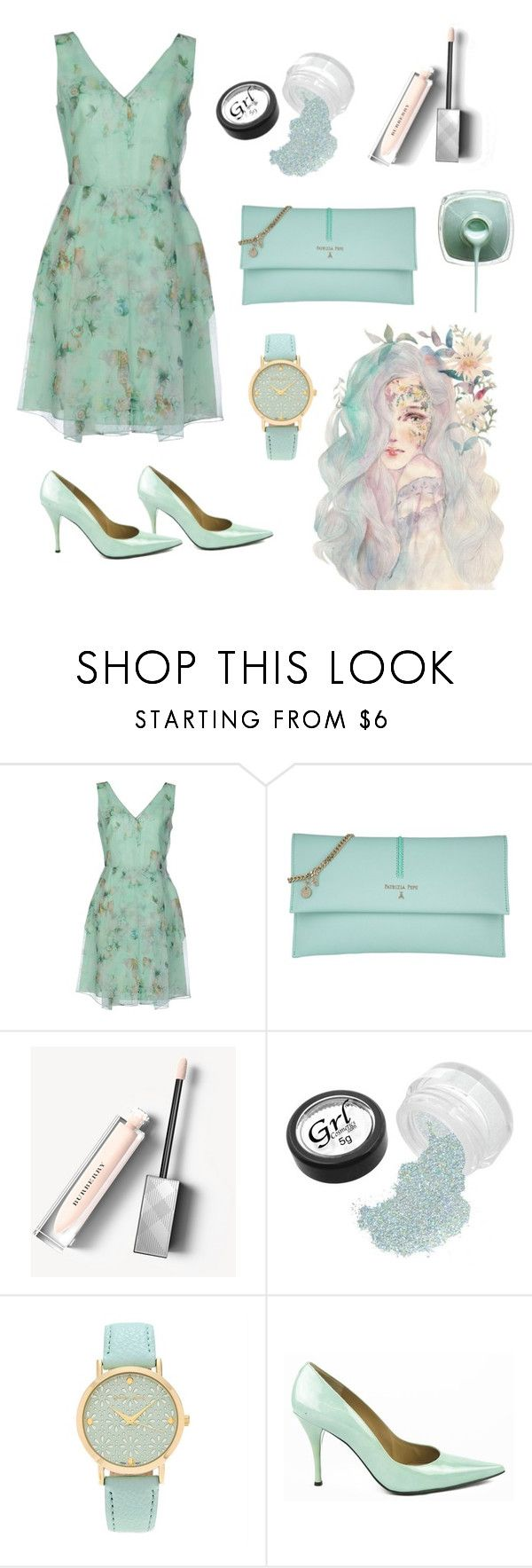 """""""Untitled 73"""" by jaelclarice ❤ liked on Polyvore featuring Philosophy di Alberta Ferretti, Patrizia Pepe, Burberry, Journee Collection and Stuart Weitzman"""