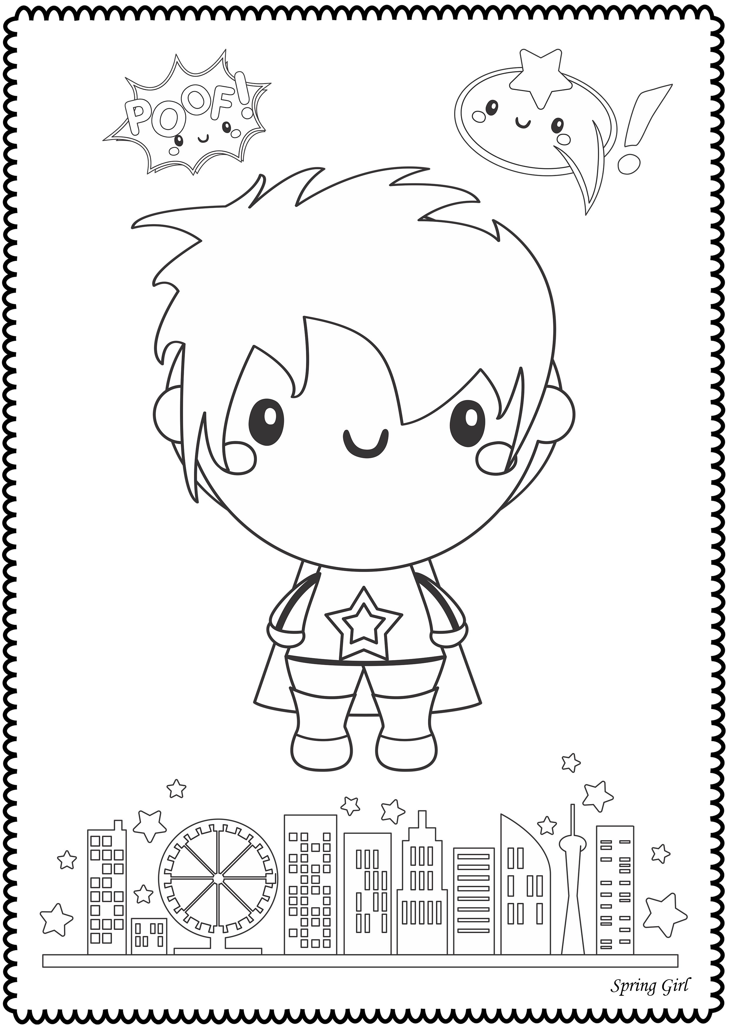 Hero Kids Fairy Tales Coloring Pages In 2020 Fairy Tales For Kids Coloring Pages Fairy Tales