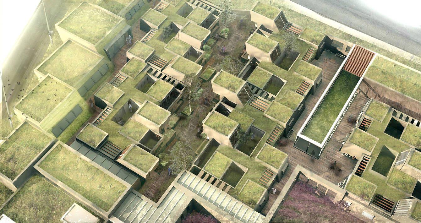 Elderly Housing Gareth Cotter Architecture Design