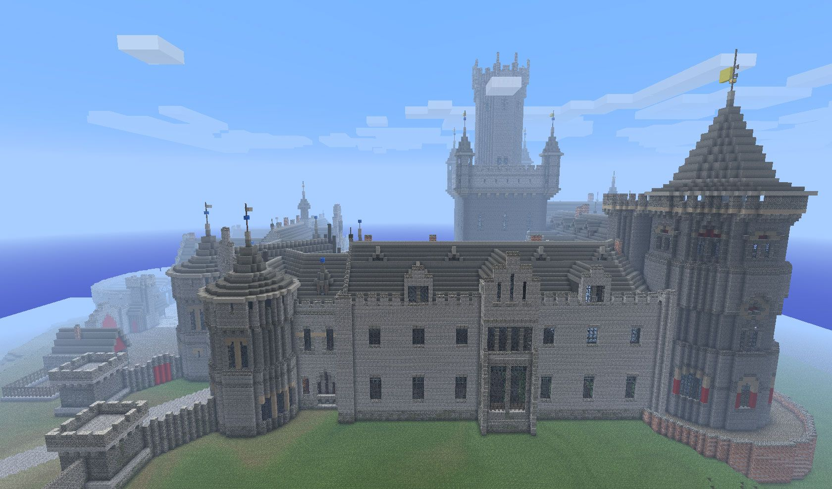 minecraft castles   Kings Castle   Minecraft Building Inc. minecraft castles   Kings Castle   Minecraft Building Inc