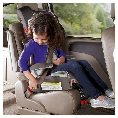 Tangerine Graco Affix Youth High Back Booster Car Seat with Latch System