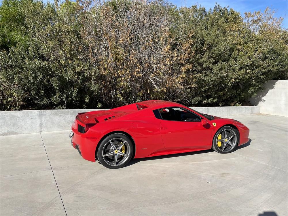 2014 Ferrari 458 Spider Available For Auction Autohunter Com 2294943 In 2021 Ferrari 458 Ferrari Forged Aluminum Wheels