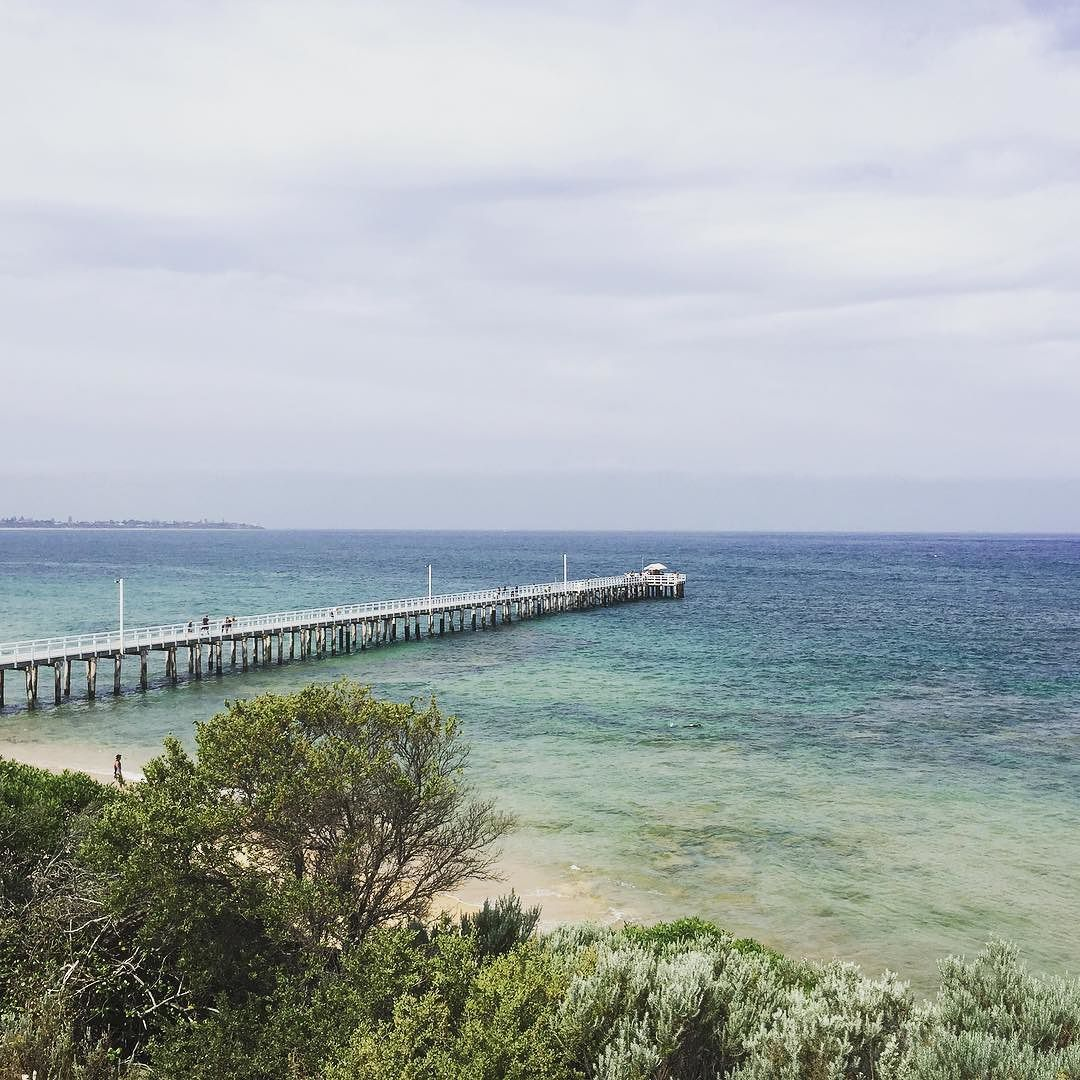 Point Lonsdale #pointlonsdaleonpoint #bellarinepeninsula #pier #beach by alewells http://ift.tt/1JO3Y6G