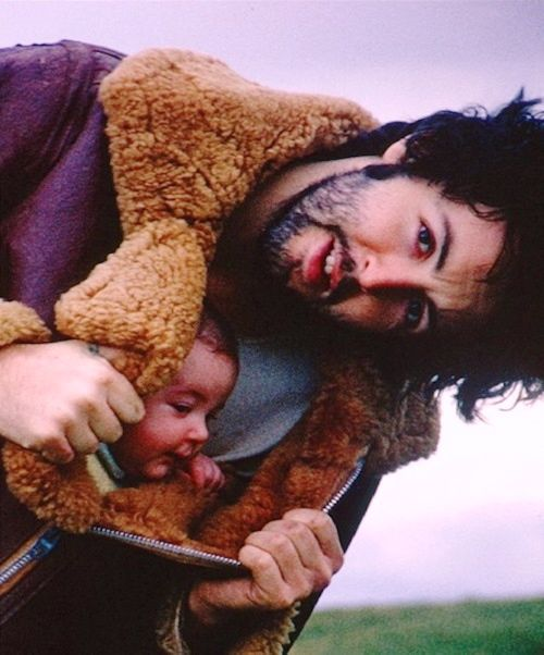 Paul and Mary McCartney in Scotland by Linda Eastman (1970)