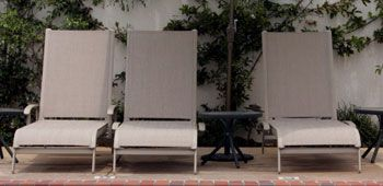 Looking For An Inexpensive Alternative To Replace The Sling On Your Favorite Patio Chair Or Chaise Economy Slings Are Our An Patio Patio Chairs Outdoor Chairs