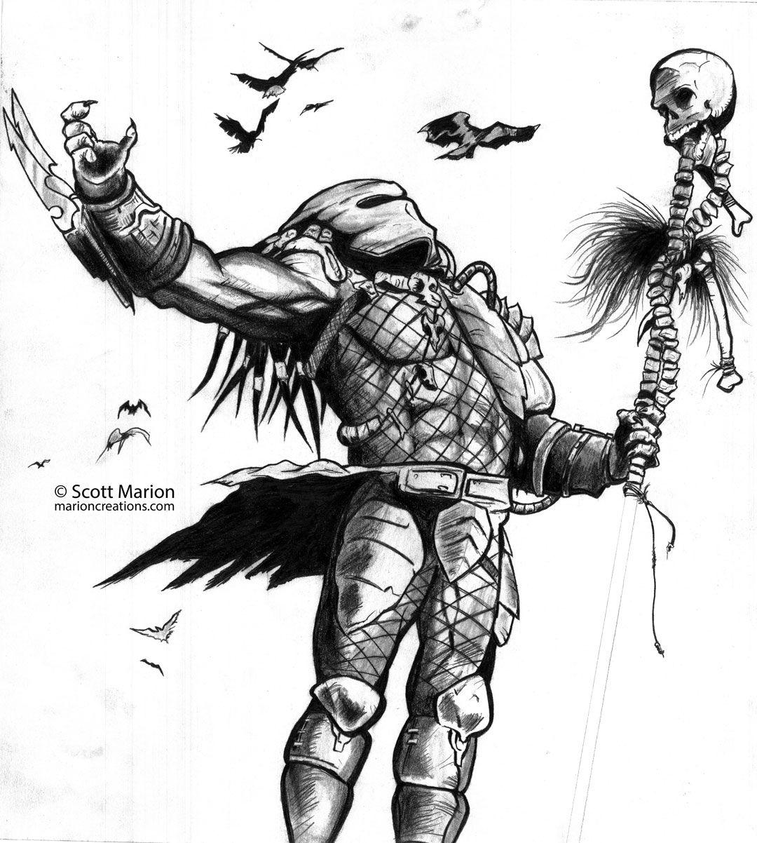 28 Predator Tattoo Designs